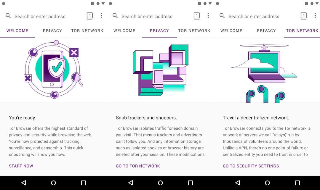10 Aplikasi Browser Android Terbaik - Tor Browser