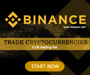 Trade cryptocurrency on Binance banner