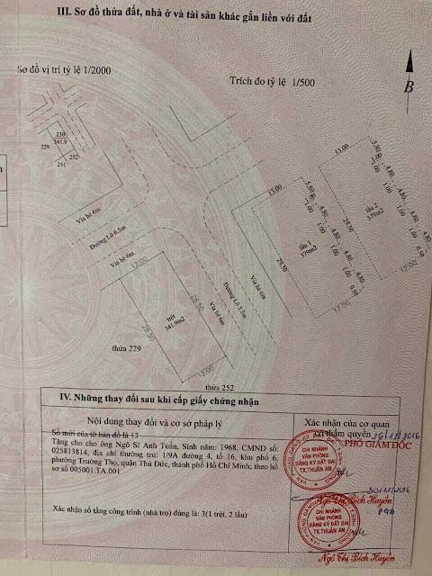 Bán Dãy Trọ 1 Trệt 2 Lầu KDC An Phú, Thuận An, Bình Dương.