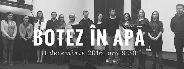Botez la Biserica Speranta Timisoara - 11 decembrie  2016