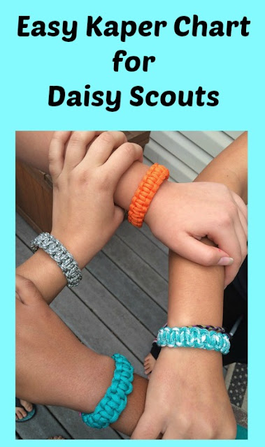Easy Kaper Chart Ideas for Girl Scout Daisies