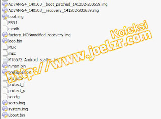Firmware Advan S4 tested