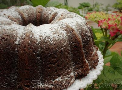 Bundt pan cake al cioccolato