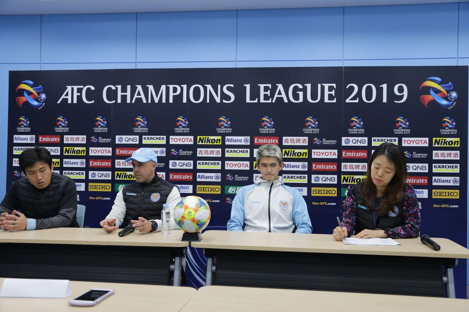 ACL Press Conference: Daegu FC vs Sanfrecce Hiroshima AFC Champions League Group F