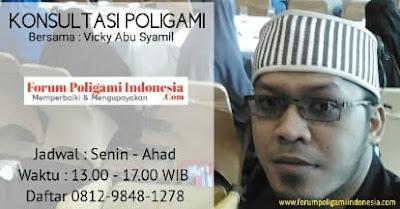 jadwal konsultasi forum poligami indonesia