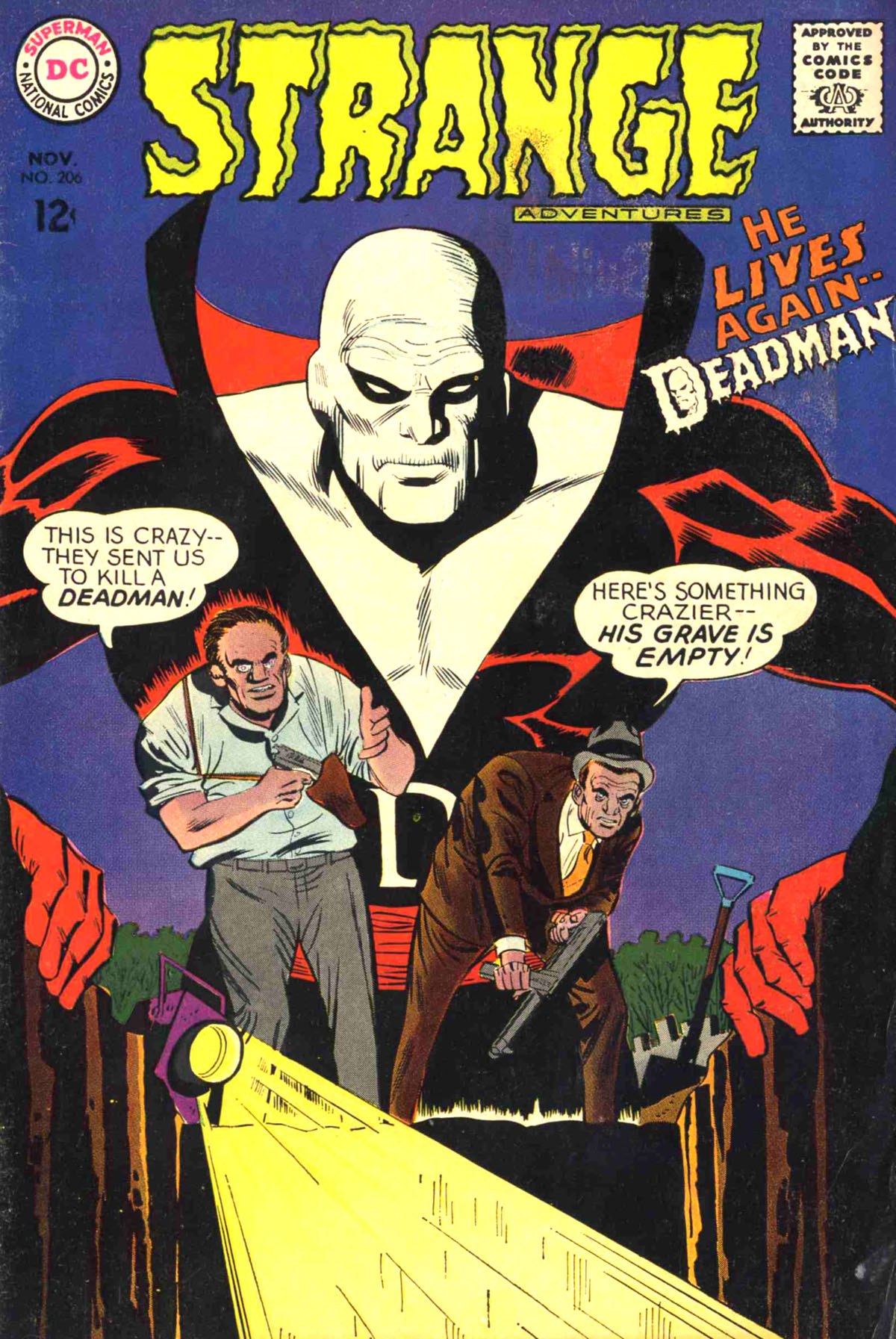 Strange Adventures (1950) issue 206 - Page 1