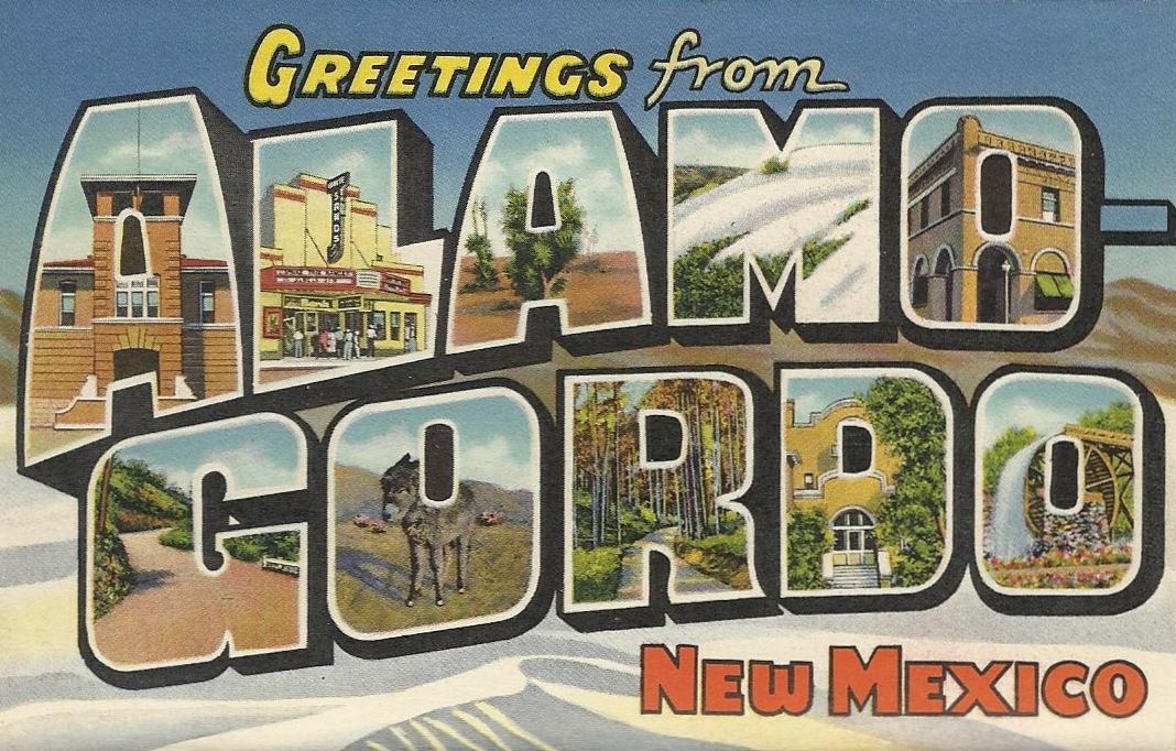 Popular Vintage Travel Postcards: New Mexico Postcard Book FQ91