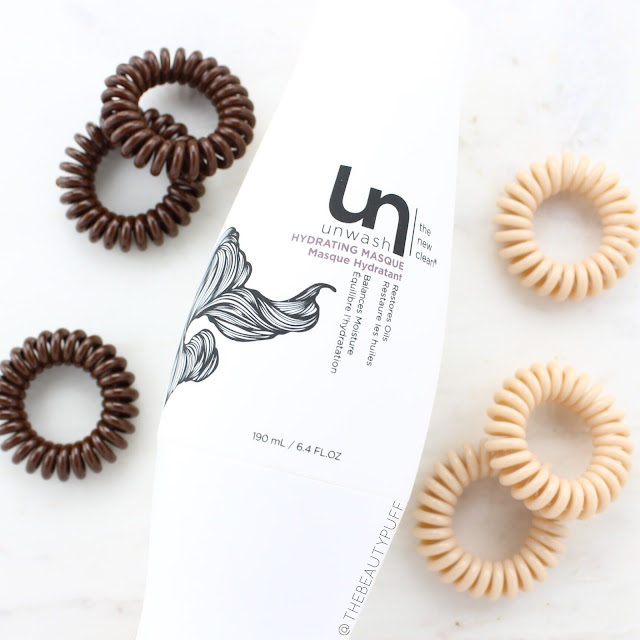 unwash masque invisibobble  | the beauty puff