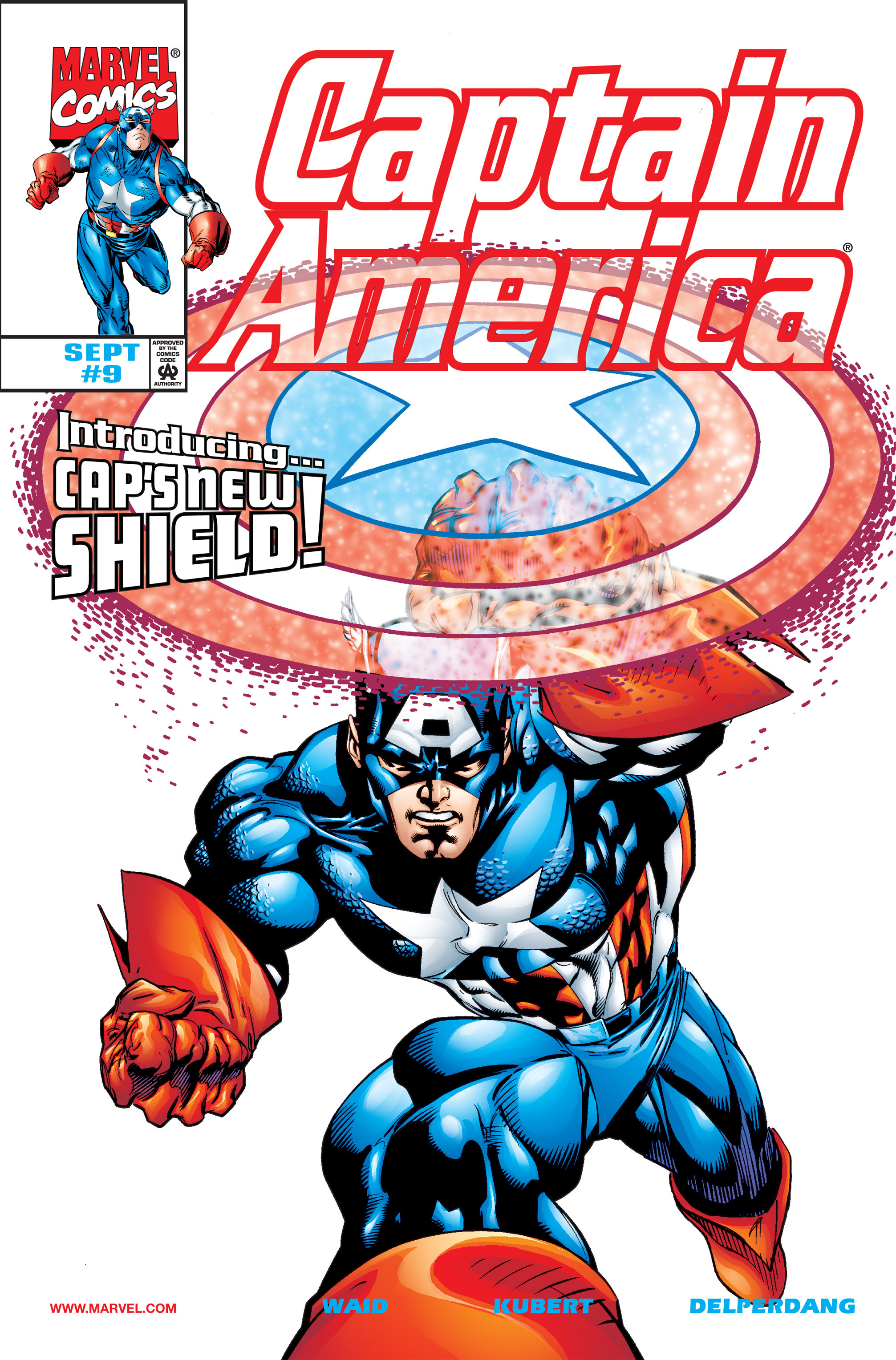 Captain America (1998) 9 Page 1
