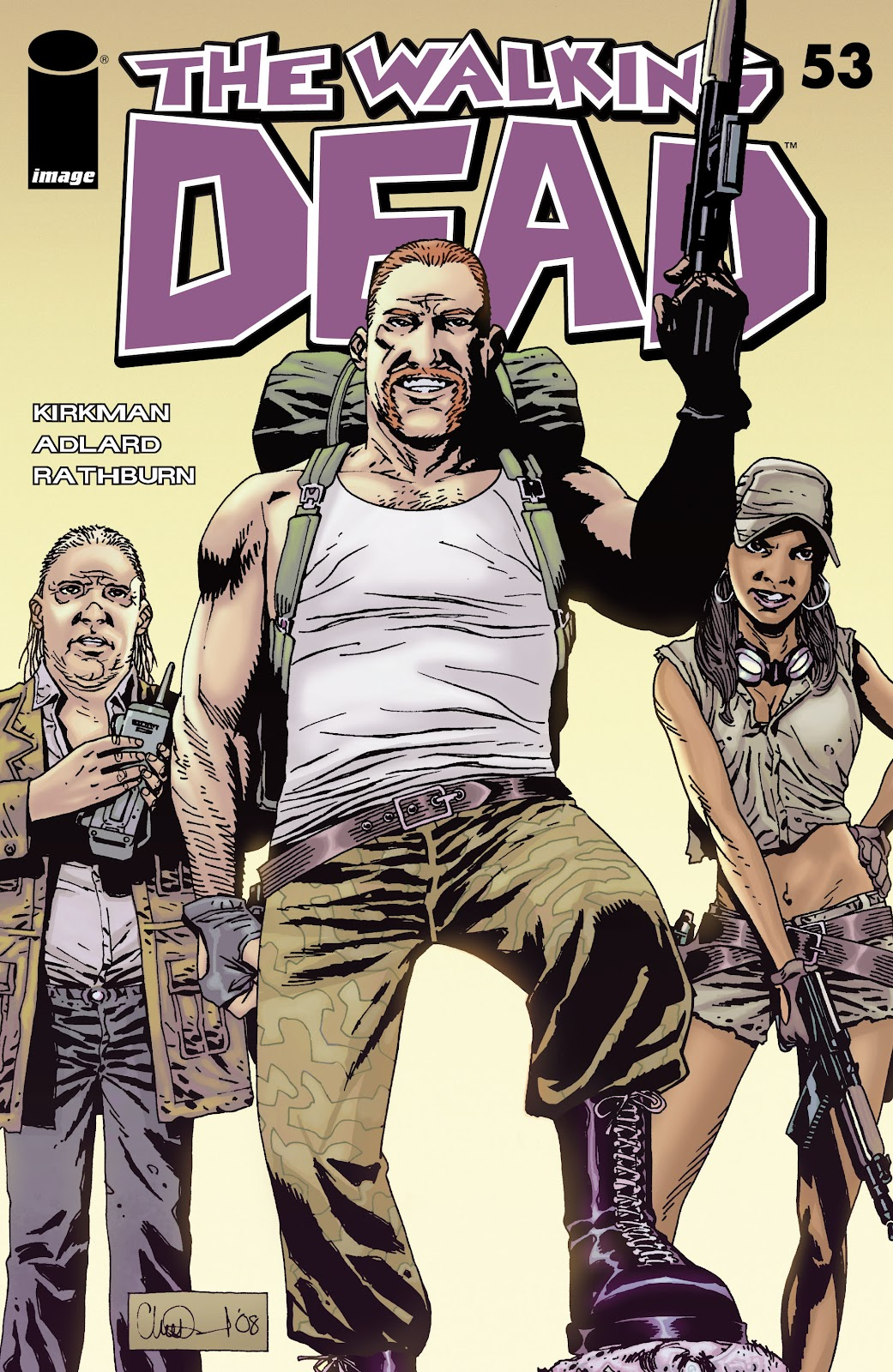 The Walking Dead issue 53 - Page 1
