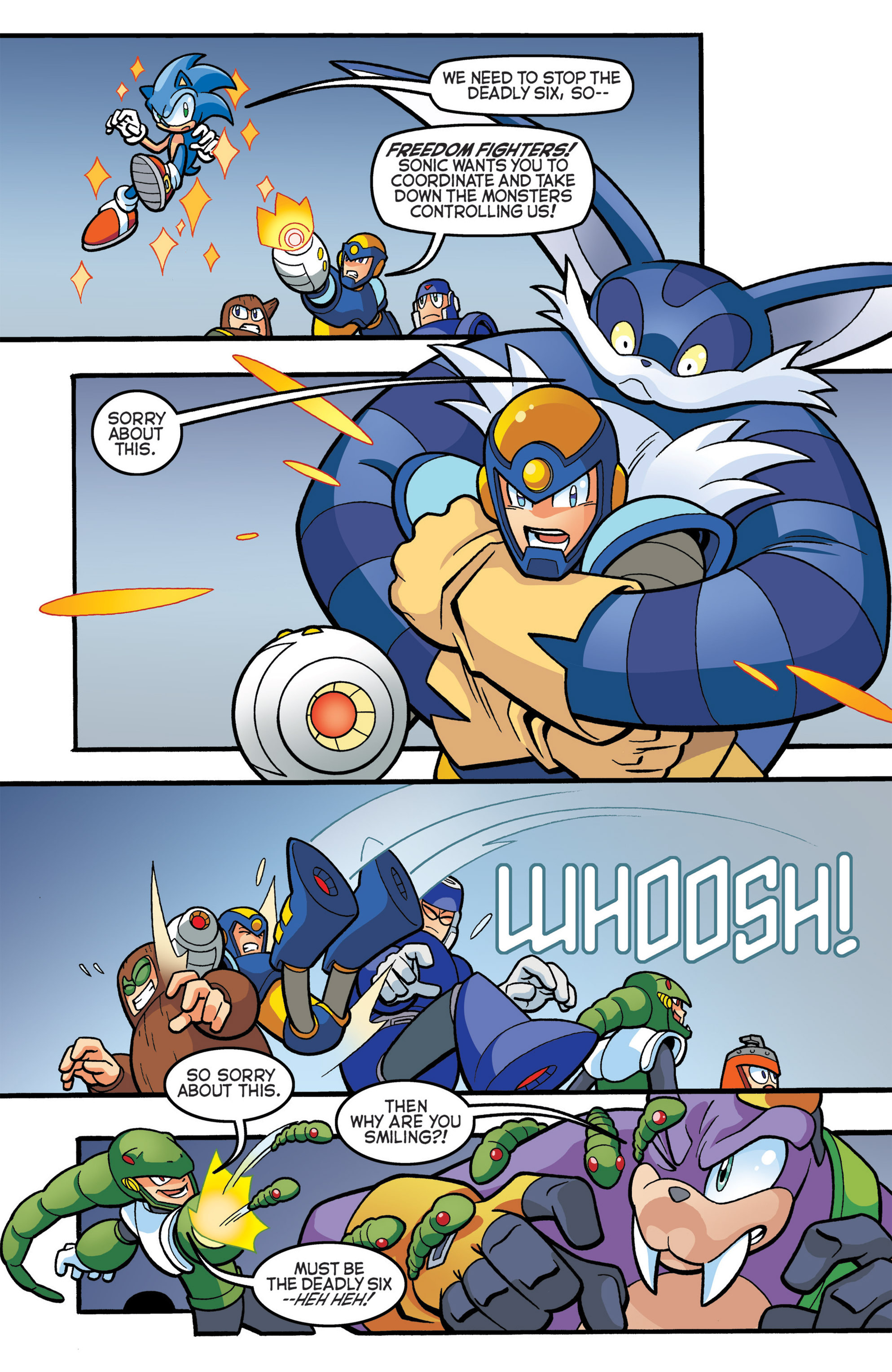 Read online Sonic The Hedgehog comic -  Issue #274 - 6