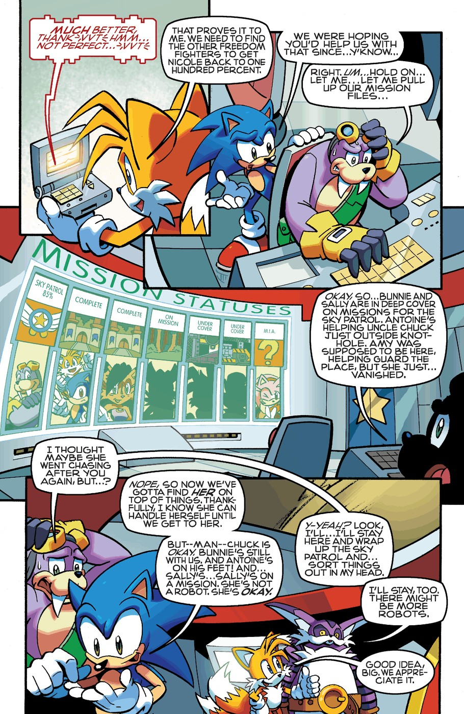 Read online Sonic The Hedgehog comic -  Issue #253 - 20