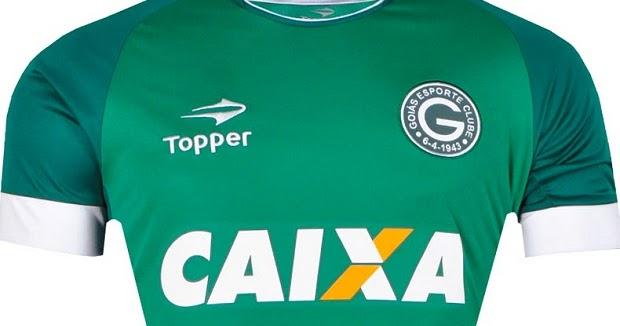 Goiás renova com a fabricante esportiva Topper - Show de Camisas 07ed4d423945b