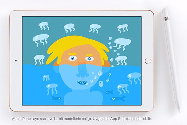 iPad + Apple Pencil 讓孩子展現無限創意