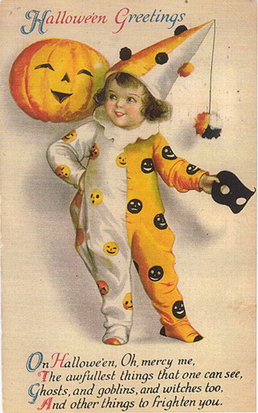 Vintage Halloween Image From My Front Porch To Yours