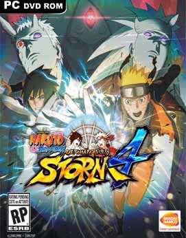 NARUTO STORM 4 cover game