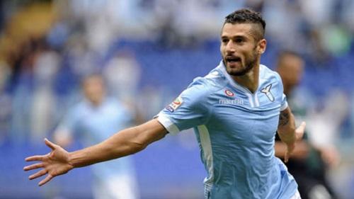 Candreva được xem là nhân tố không thể thay thế của câu lạc bộ Lazio