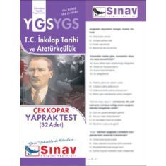 Sınav YGS T.C. İnkılap Tarihi ve Atatürkçülük Yaprak Test
