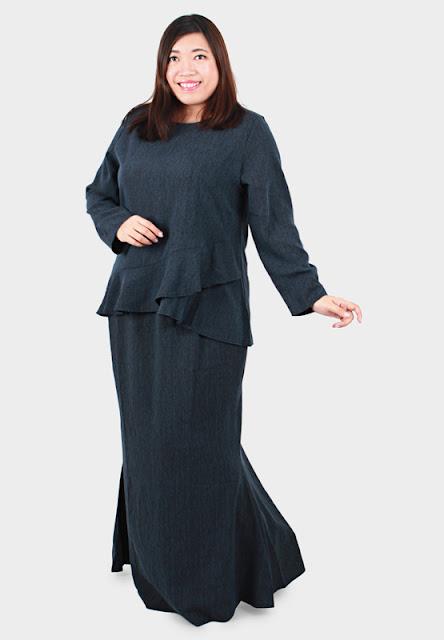 baju kurung plus size