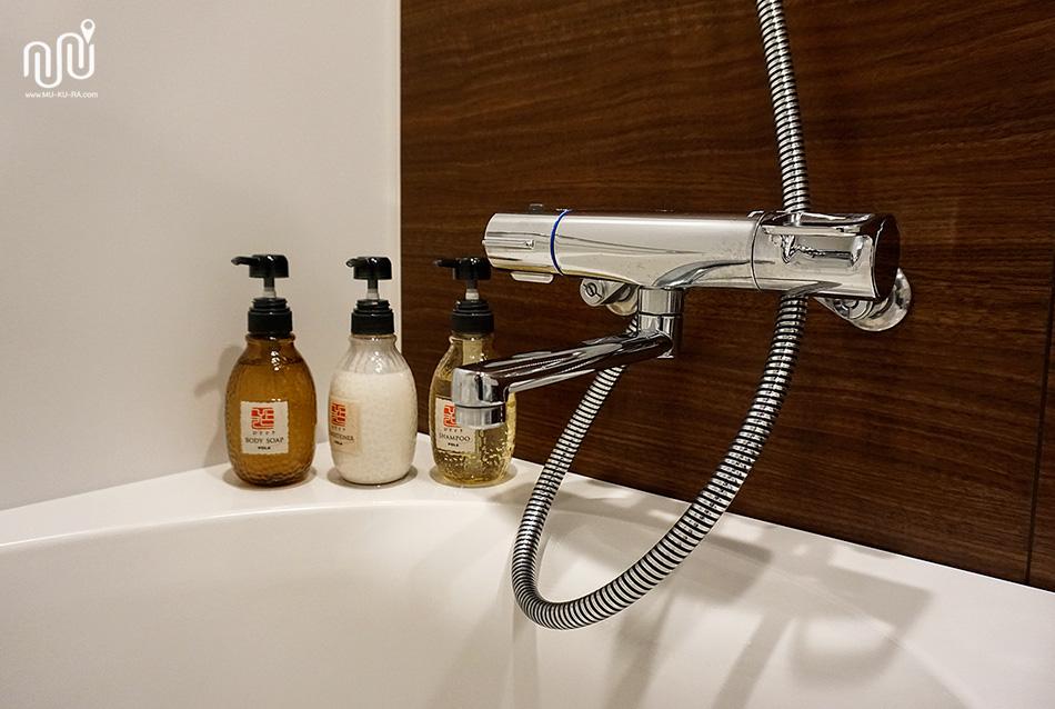 ห้องน้ำที่ HOTEL MYSTAYS PREMIER Kanazawa โรงแรมใกล้สถานีรถไฟ
