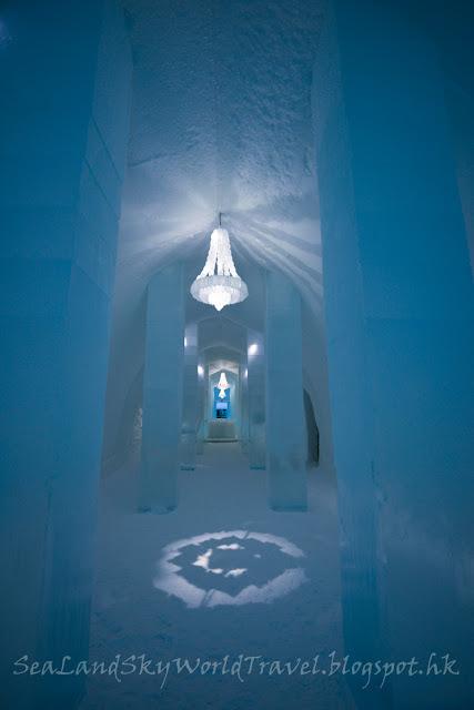 瑞典, 冰酒店, 走廊, Icehotel, Corridor