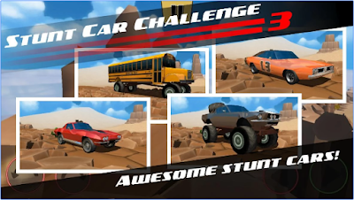 Stunt car Challenge 3 Apk v1.15 Mod Money Terbaru Gratis
