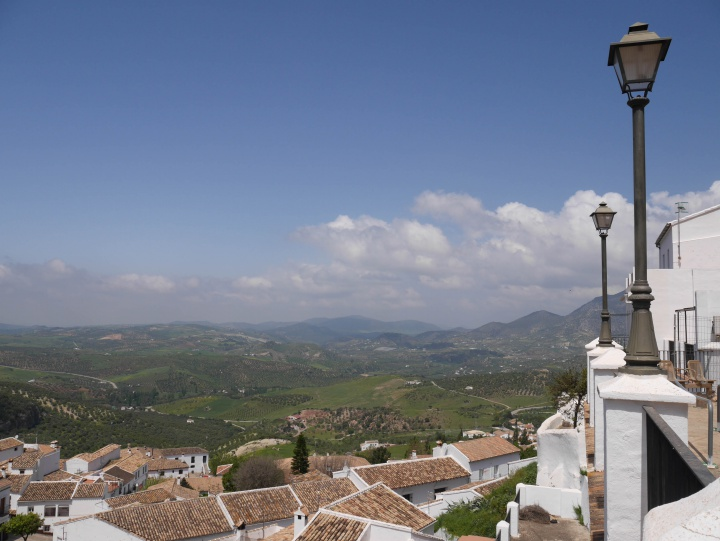 View from Zahara da la Sierra, Spain