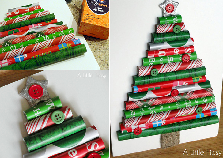 DIY Christmas tree project