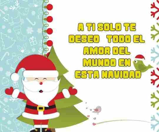 Te deseo lo mejor del mundo feliz navidad