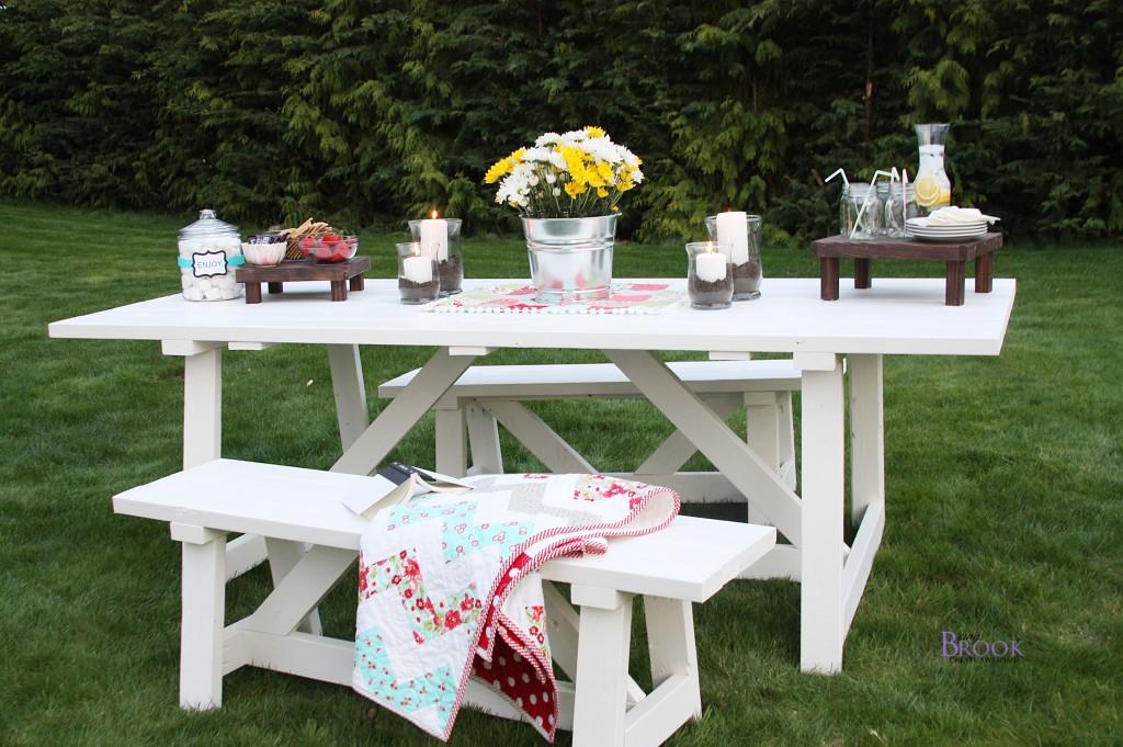 Ana White Picnic Table Beingbrook