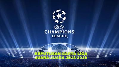 Keputusan Carta Liga Juara-Juara UEFA 2018-2019