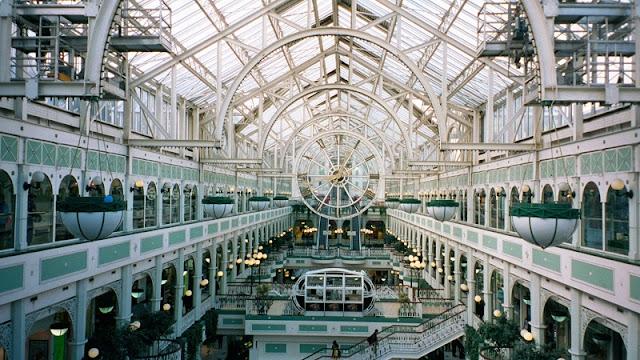 Estrutura do Shopping Stephen's Green