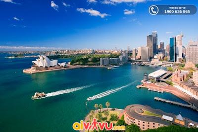 Mùa thu tại Sydney