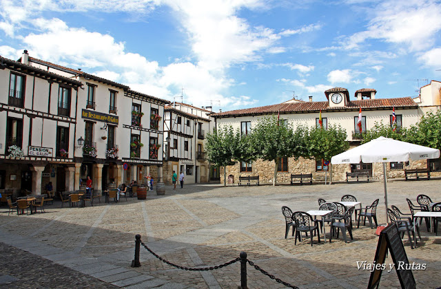 Plaza Mayor de Covarrubias, Burgos