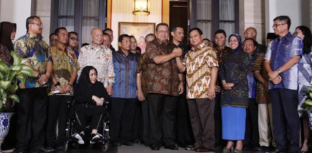 Pertemuan Akrab Prabowo Dan SBY Tanda-Tanda Ganti Presiden Semakin Dekat
