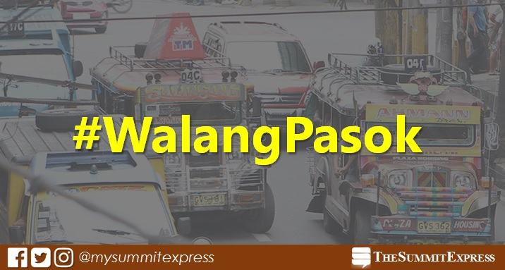 #WalangPasok: Class suspensions on Monday, September 25, 2017