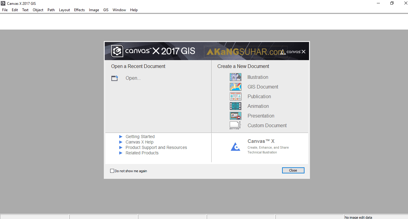 Download ACD Systems Canvas X 2017 GIS Build 160 Full Version Terbaru