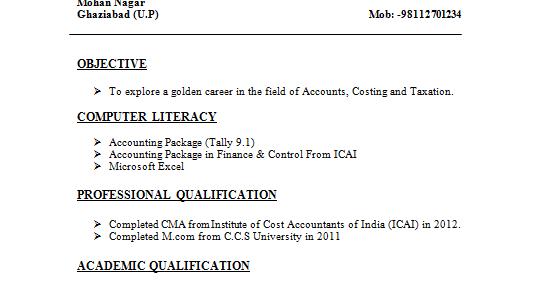 Resume For Fresher Bpo Jobs Resume Format For Freshers Resume Samples For  Freshers Tcs Hiring Freshers