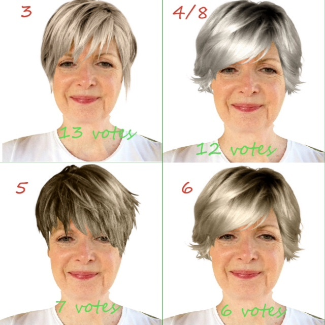 top reader choices for my grey hair look.