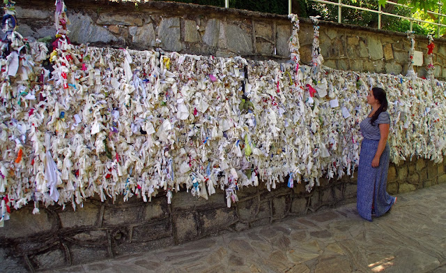 Virgin Mary's House Messages on Wall