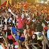 Em noite de primeiro comício, eleitores de Tonho e Aldo lotam ruas de Espírito Santo-RN