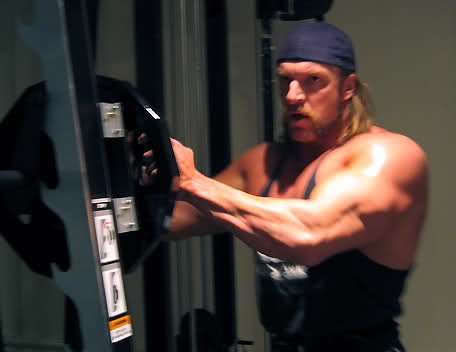 Triple H Workout And Diet Secret Muscle World