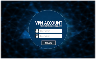 cara membuat akun vpn