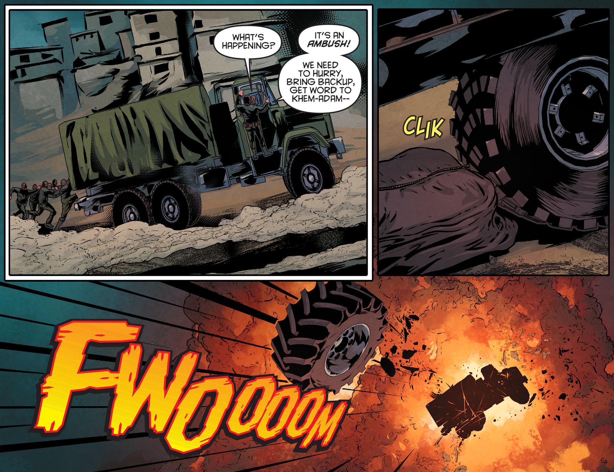 Read online Arrow: Season 2.5 [I] comic -  Issue #11 - 18