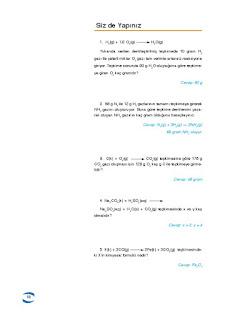10. Sınıf Kimya Ders Kitabı Cevapları Uygun Basım Yayınları Sayfa 17