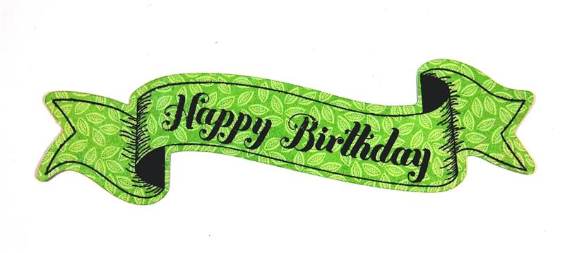 Well-known Capadia Designs: Happy Birthday Banner & Balloon Card IA75