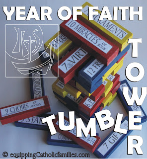Year of Faith Tumble Tower