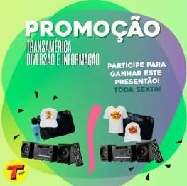 Promoção Rádio Transamérica Diversão e Informação