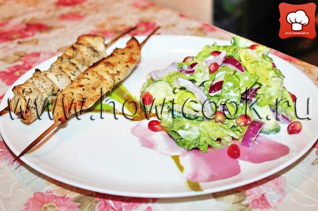 рецепты шашлычков в духовке