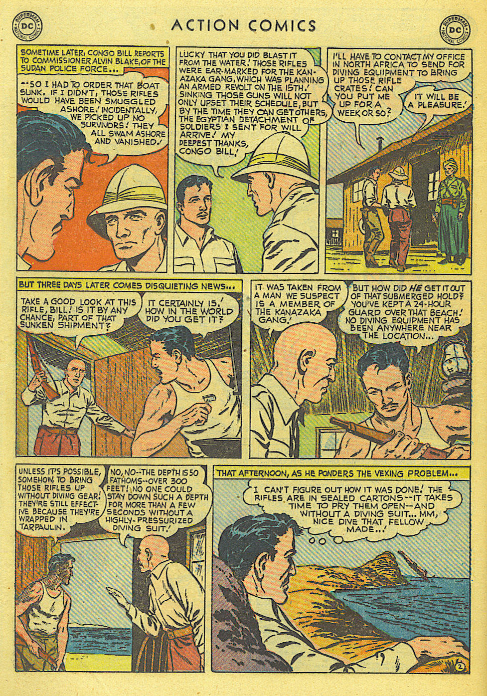 Read online Action Comics (1938) comic -  Issue #168 - 22